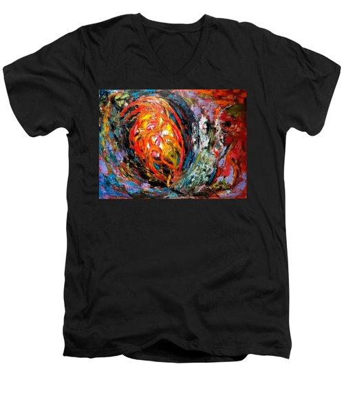 Moving Energy Men's V-Neck T-Shirt