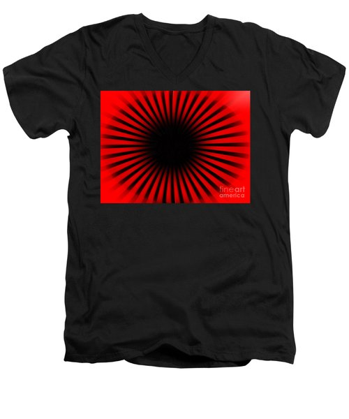 Moving Men's V-Neck T-Shirt