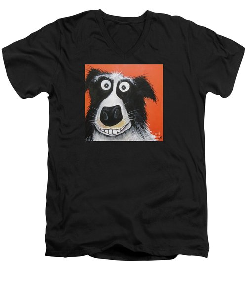 Mr Dog Men's V-Neck T-Shirt