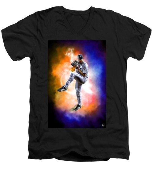Mr. Justin Verlander Men's V-Neck T-Shirt