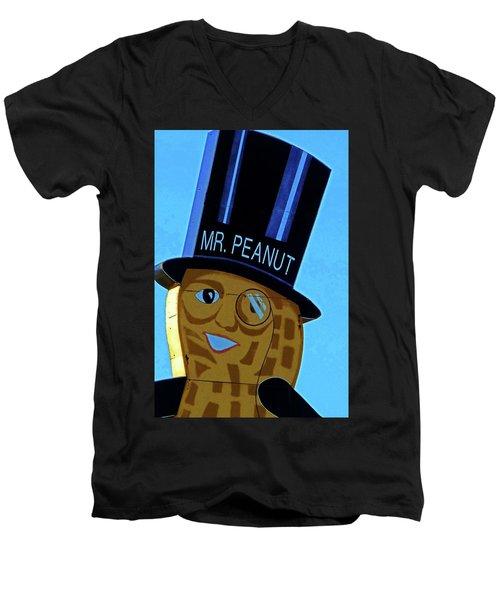 Mr Peanut 2 Men's V-Neck T-Shirt