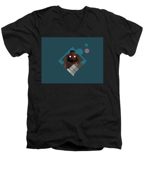 Mr. Wallace Men's V-Neck T-Shirt