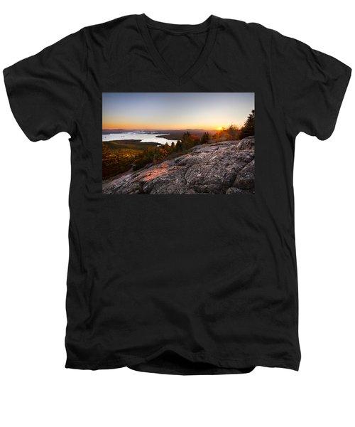 Mt. Major Summit Men's V-Neck T-Shirt