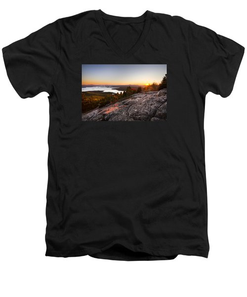 Mt. Major Summit Men's V-Neck T-Shirt