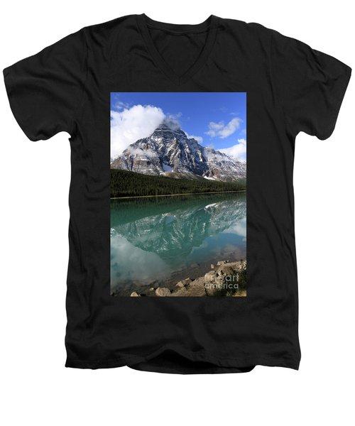 Mt Refection Men's V-Neck T-Shirt