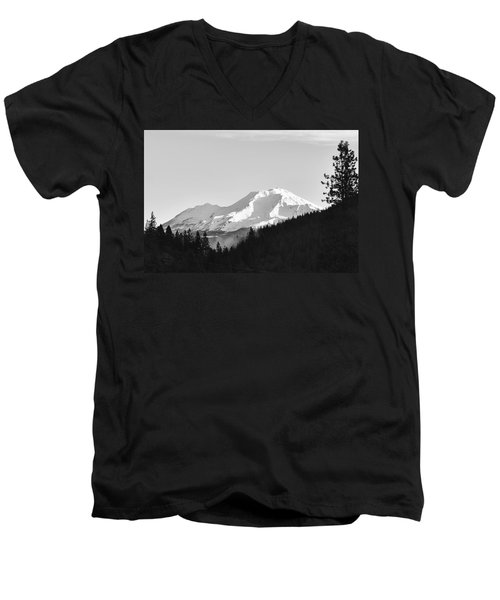 Mt Shasta Men's V-Neck T-Shirt