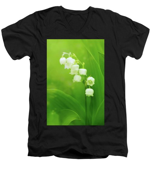 Muguet Melody Men's V-Neck T-Shirt