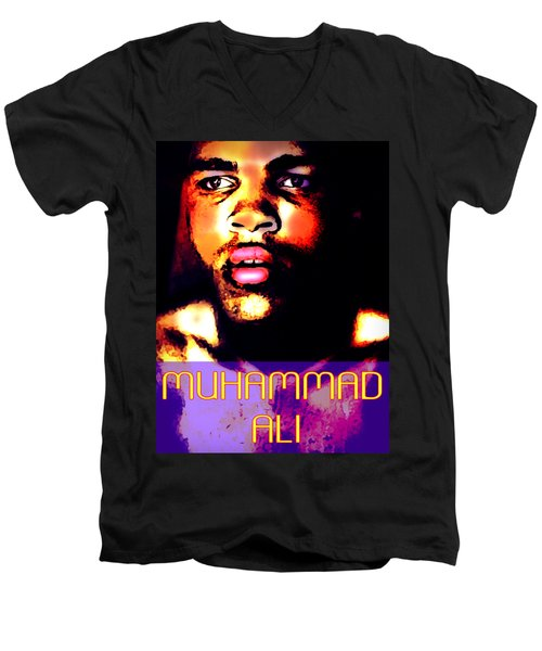 Muhammad Ali V Men's V-Neck T-Shirt