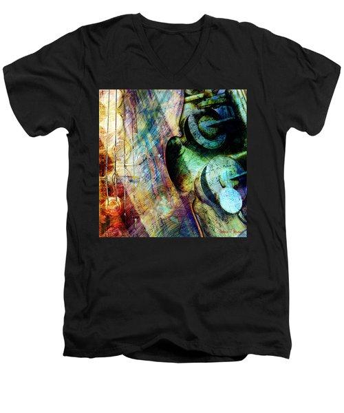 Music II Men's V-Neck T-Shirt
