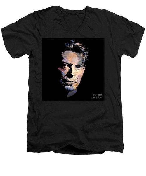 Music Legend. Men's V-Neck T-Shirt by Andrzej Szczerski