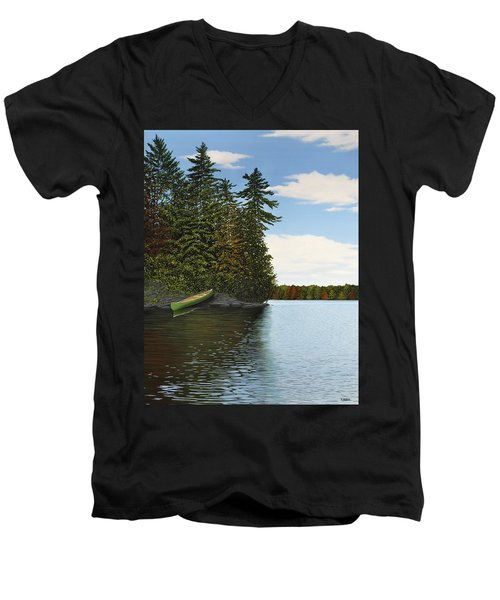 Muskoka Shores Men's V-Neck T-Shirt