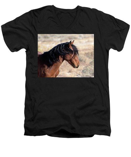 Mustang Men's V-Neck T-Shirt