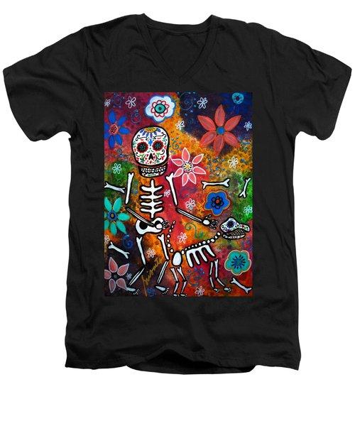 My Bestfriend Men's V-Neck T-Shirt