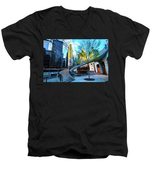 My Blue Chi Men's V-Neck T-Shirt