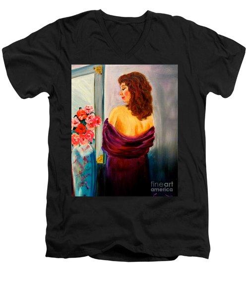 My Cherie Jenny Lee Discount Men's V-Neck T-Shirt