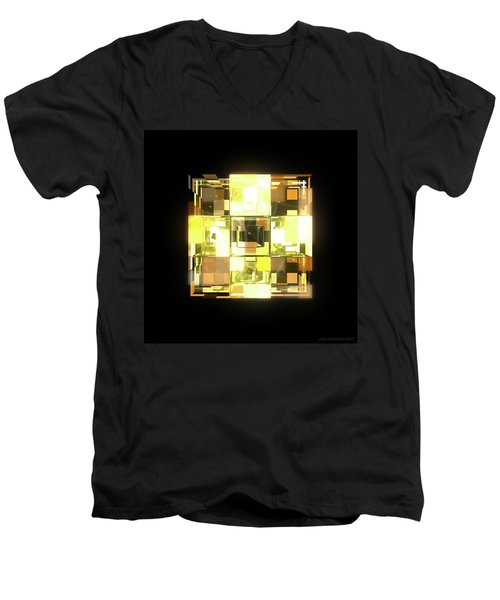 My Cubed Mind - Frame 001 Men's V-Neck T-Shirt