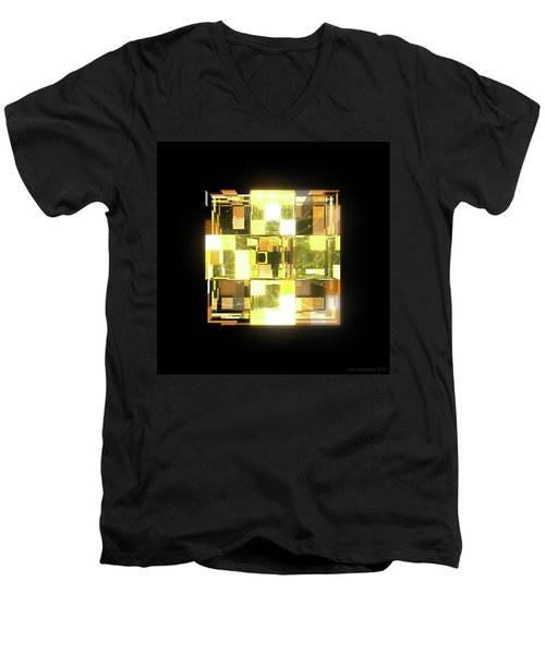 My Cubed Mind - Frame 019 Men's V-Neck T-Shirt