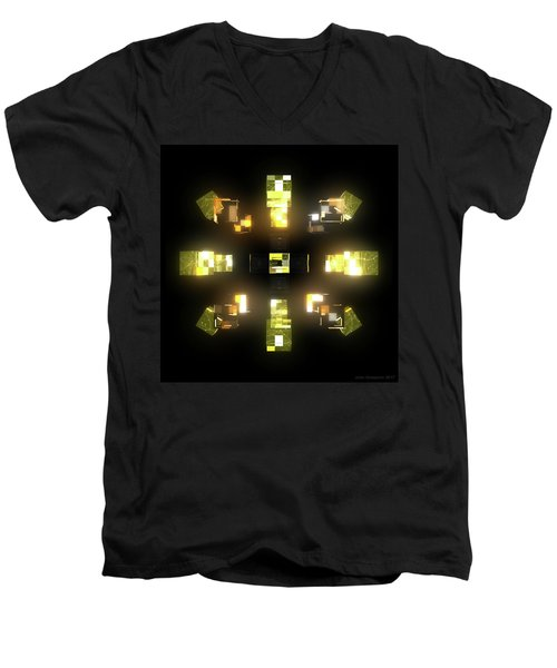 My Cubed Mind - Frame 172 Men's V-Neck T-Shirt