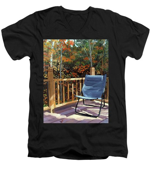 My Favorite Spot Men's V-Neck T-Shirt