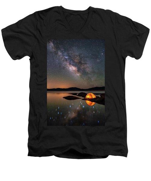 My Million Star Hotel Men's V-Neck T-Shirt
