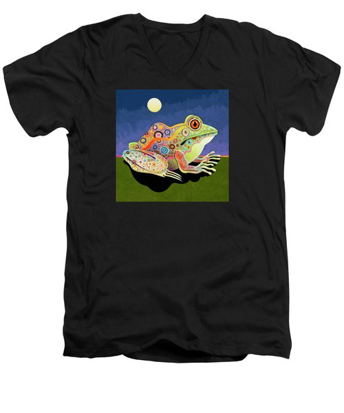 My Prince Men's V-Neck T-Shirt by Bob Coonts