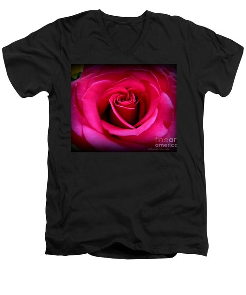 My Rose Men's V-Neck T-Shirt
