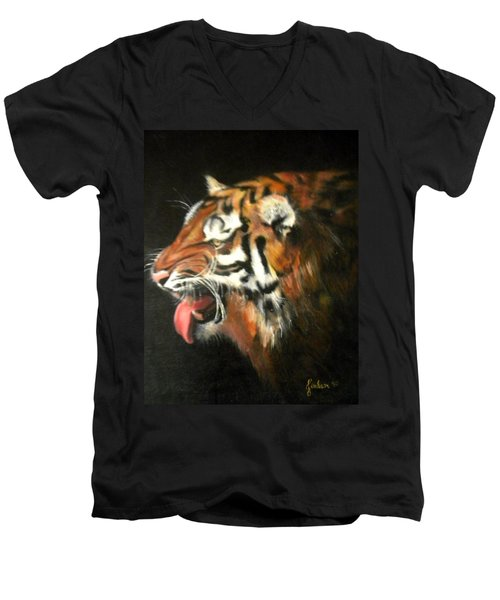 My Tiger - The Year Of The Tiger Men's V-Neck T-Shirt