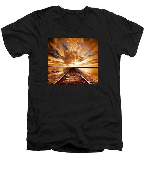 My Way Men's V-Neck T-Shirt