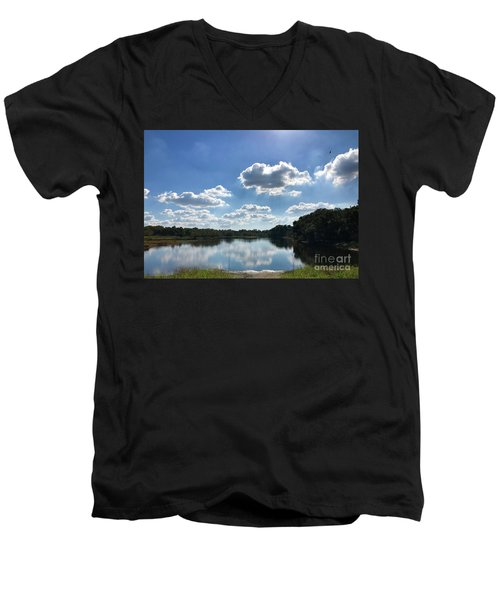 Myakka River State Park Men's V-Neck T-Shirt
