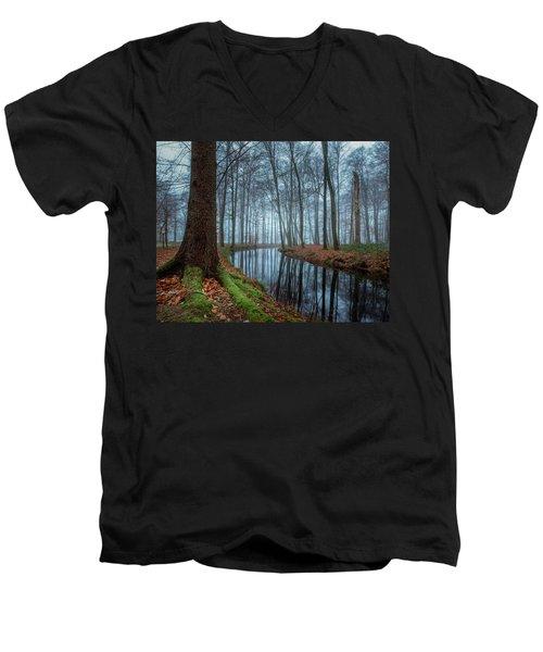 Mystic Voorstonden Men's V-Neck T-Shirt