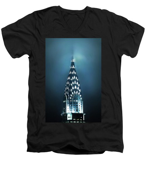 Mystical Spires Men's V-Neck T-Shirt