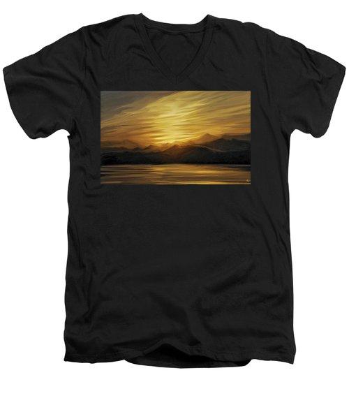 Naama Bay, Egypt Men's V-Neck T-Shirt