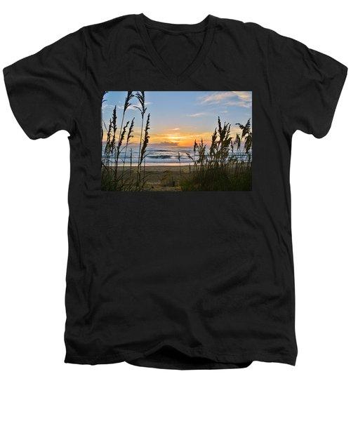 Nags Head August 5 2016  Men's V-Neck T-Shirt