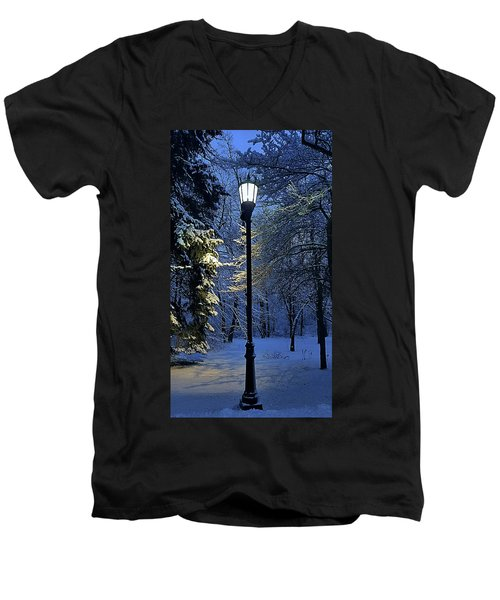 Men's V-Neck T-Shirt featuring the photograph Narnia by Phil Koch