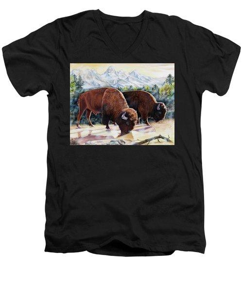 Native Nobility Men's V-Neck T-Shirt