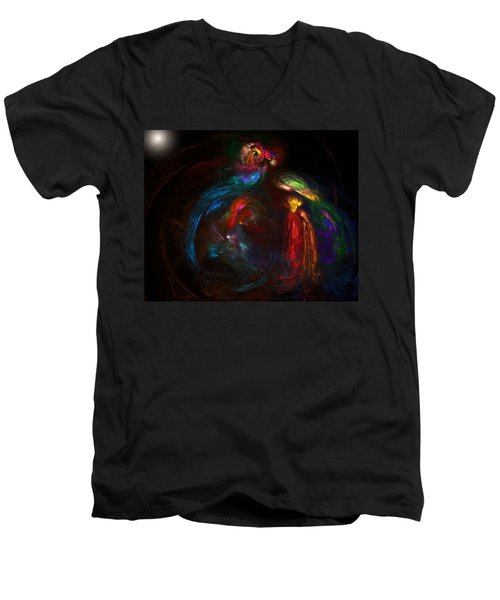 Nativity  Men's V-Neck T-Shirt