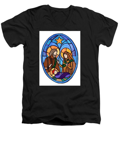 Nativity Men's V-Neck T-Shirt