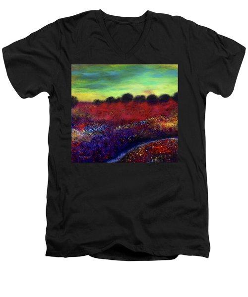 Natures Bouquet Men's V-Neck T-Shirt