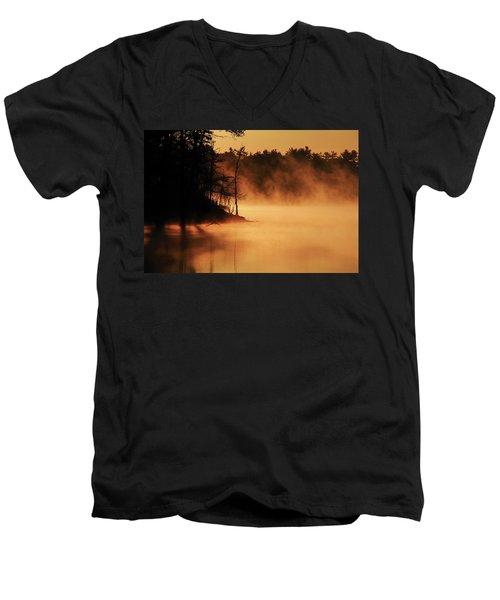 Nature's Breath Men's V-Neck T-Shirt