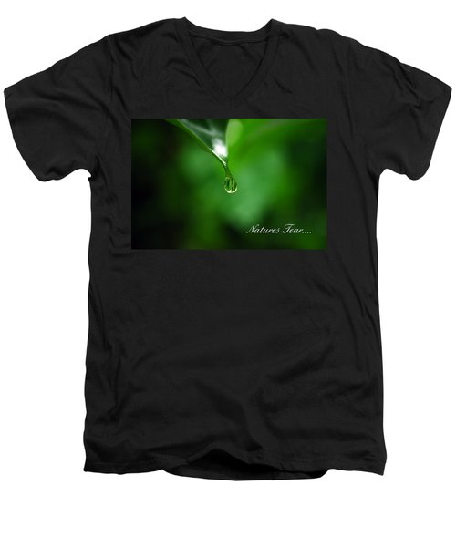 Natures Tear Men's V-Neck T-Shirt