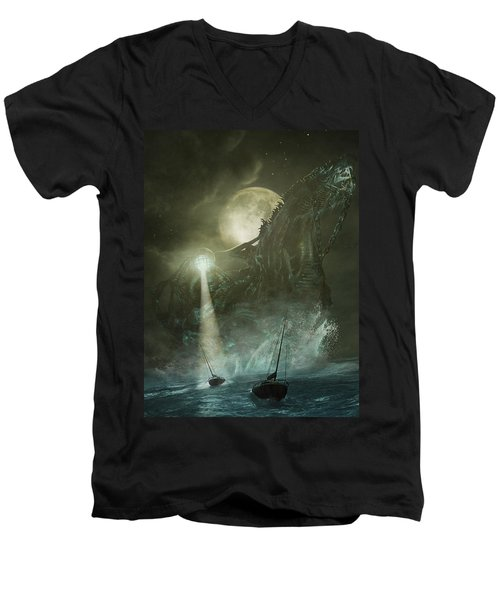 Nautilus Men's V-Neck T-Shirt