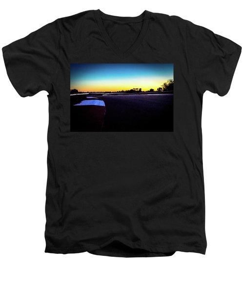 Ncm Motorsports Park - Bowling Green Ky Men's V-Neck T-Shirt