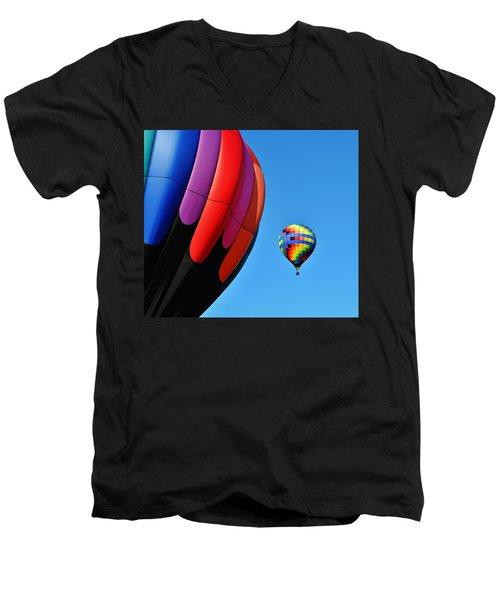 Near And Far Men's V-Neck T-Shirt