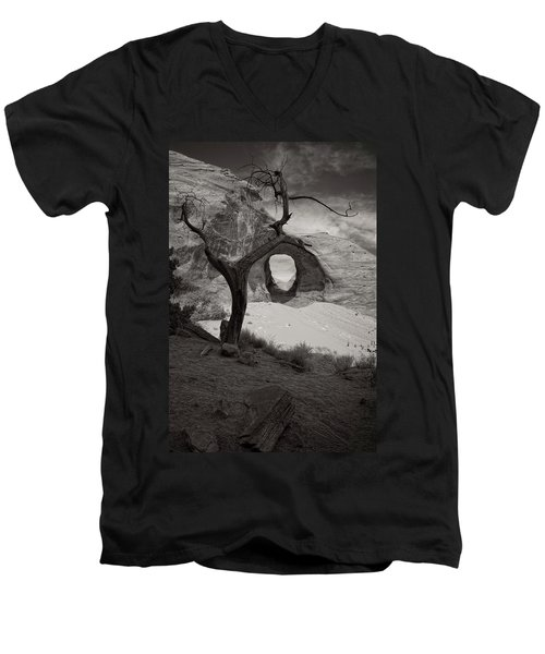 Nearer To Thee Men's V-Neck T-Shirt