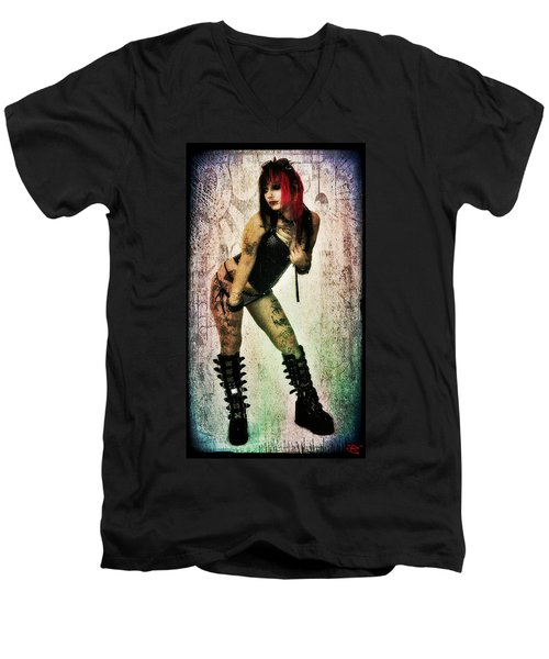 Neko 1 Men's V-Neck T-Shirt