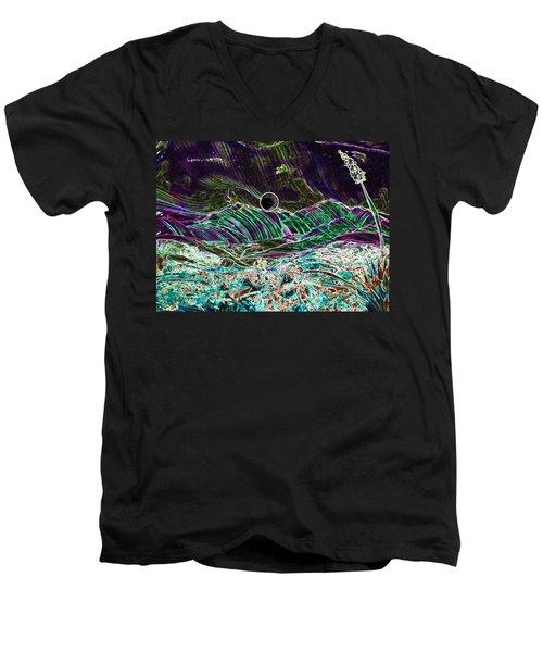 Neon Moon Men's V-Neck T-Shirt