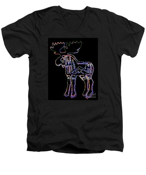 Neon Moose Men's V-Neck T-Shirt