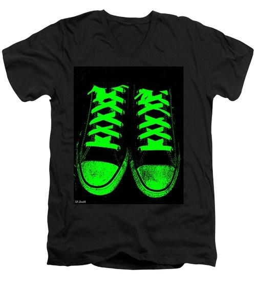 Neon Nights Men's V-Neck T-Shirt