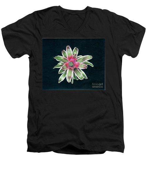 Neoregelia Terrie Bert Men's V-Neck T-Shirt