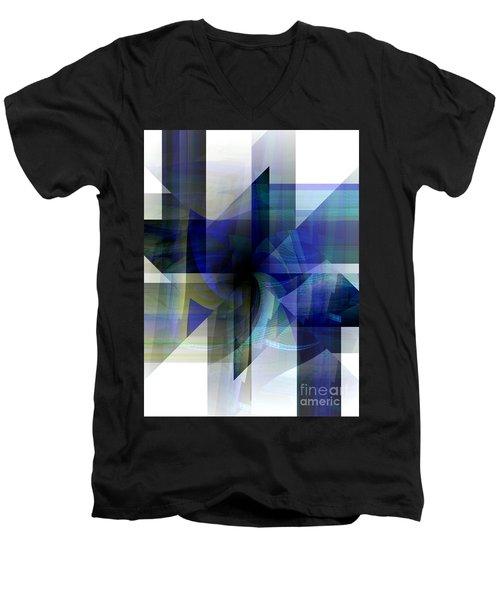 Transparency Men's V-Neck T-Shirt